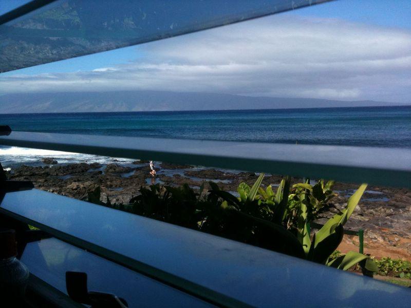 Hawaii Gazebo Restaurant through the window
