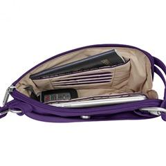 travelon bag open