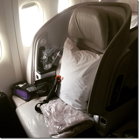 Image of an Air New Zealand premium economy